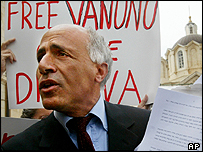 Former nuclear scientist Mordechai Vanunu. File photo