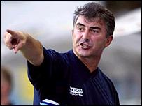 Bristol Rovers boss Ian Atkins