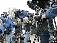 Cameras cover the Michael Jackson trial
