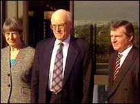 The three-strong panel in the Rosemary Nelson inquiry
