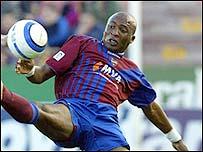 Levante's Colombian star Edwin Congo
