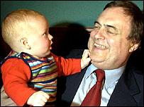 Baby with John Prescott