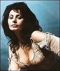 Sofía Loren en el papel de Dulcinea.