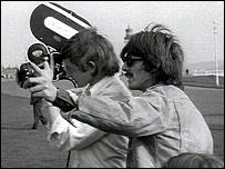 Beatle George Harrison on Plymouth Hoe, 1967
