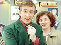 Steve Coogan and Felicity Montagu in I'm Alan Partridge