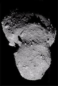Asteroid Itokawa, Jaxa