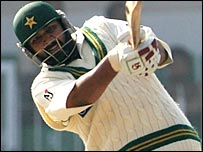 Inzamam has never before scored two centuries in a Test