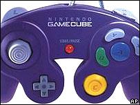 Nintendo game console controller