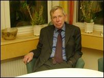 Gunnar Agren, director general of Swedish Institute of Public Health