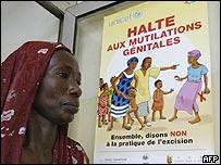 Víctima de mutilación