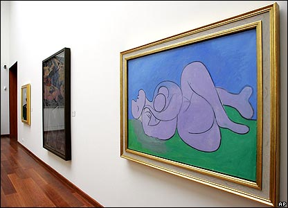 Siesta (right) by Pablo Picasso