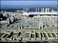 Ancient city of Persepolis