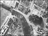 Кёльн в июне 1945 года (фото из Aerial Reconnaissance Archives)