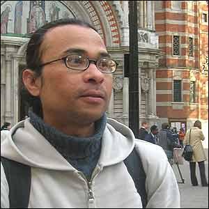 Jeffrey Yussof, 39, from Malaysia.