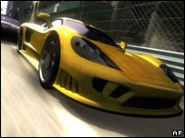 Screenshot from Project Gotham Racing, Microsoft