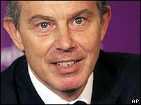 Tony Blair, AP