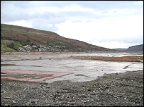 The cleared steelworks site