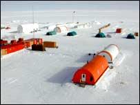 Antarctic base.  Image: A. Lori/ENEA