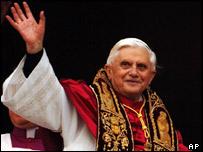 Joseph Ratzinger, Papa Benedicto XVI.