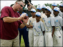 Ian Botham in Galle