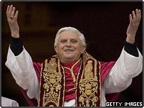 Joseph Ratzinger, now Pope Benedict XVI