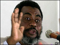 Zanzibar opposition leader Seif Shariff Hamad