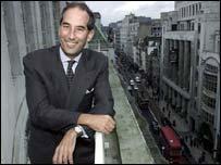 Chief executive Tom Glocer