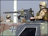 German soldiers in Kabul, Afghanistan