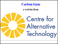 The Carbon Gym website