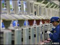 Lenovo PC production line, Getty Images