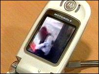 A mobile phone camera