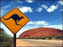 View of Australia