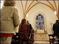 Prayers in the Frauenkirche