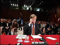 John Bolton testifies at his Senate Foreign Relations committee confirmation hearing