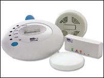 RNID smoke alarm
