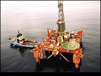 Offshore oil-rig