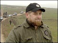 Ramzan Kadyrov, Chechnya's acting Prime Minister