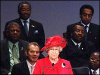 Queen Elizabeth II and Commonwealth leaders