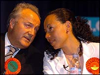 George Galloway and Oona King