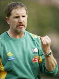 Former South Africa coach Stuart Baxter