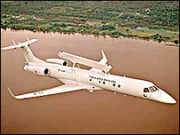 Embraer's EMB 145 Airborne Early Warning and Control military jet (Photo: Embraer)