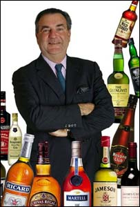 Rising sales are good news for Pernod boss Patrick Ricard