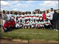 Madagascar's rugby team