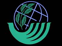 Logo from the Rio Earth Summit.  Image: BBC