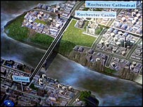 Sim City computer game