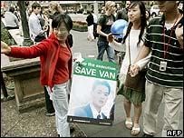 Protests in Sydney against Van Nguyen's sentence