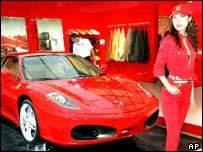Ferrari at Shanghai motor show