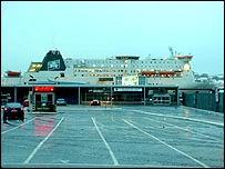 Irish Ferries vessel Isle of Inishmore