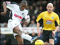 Marcus Bean in action for Swansea