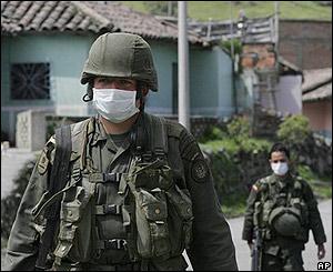 Militares en Pasto